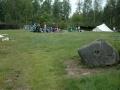 Zelte aufbauen