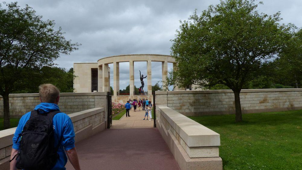 amerikanischer Soldatenfriedhof Omaha Beach