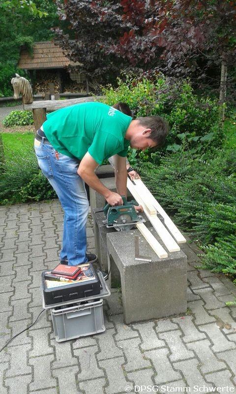 Schwedenstuhl bauen 1